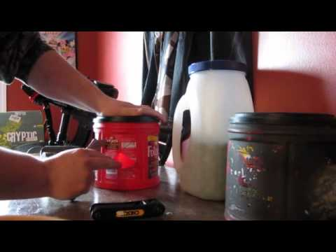 How to make a paintball caddy