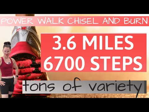 60 min workout | power walk | tons of variety | walk for weight loss | workouts for women over 40