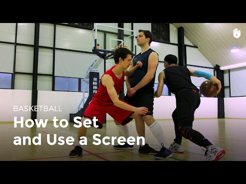 Setting and using a screen   basketball