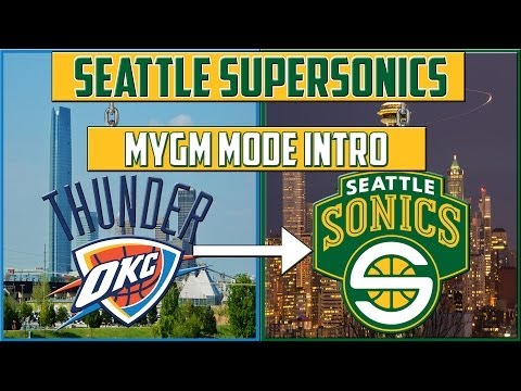 Nba 2k14 seattle supersonics mygm: the thunder move back to seattle!