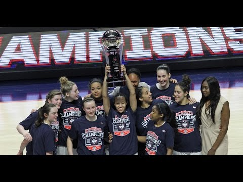 Uconn women's basketball wins 2017 american conference tournament