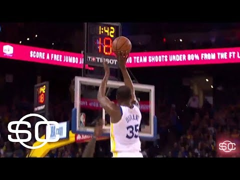 Kevin durant is the second youngest player to 20,000 points | sportscenter | espn