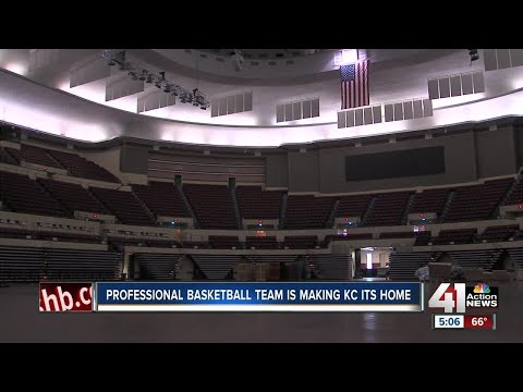 Professional basketball team is making kc its home