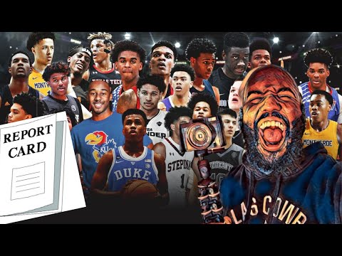 Basketball report card grades to the top freshman college basketball players!