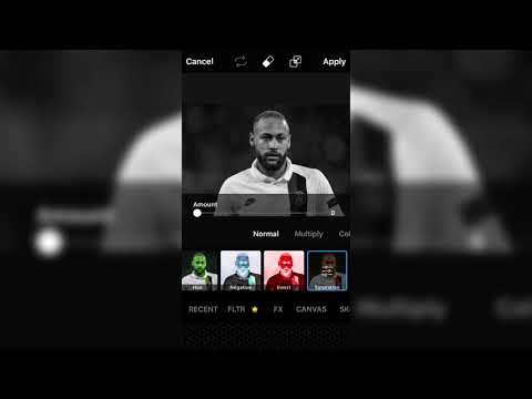 How to make a football profile picture in pics art