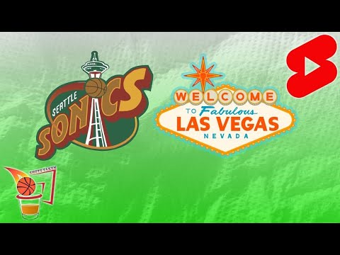 Should the nba have a team in seattle and vegas? (#shorts)