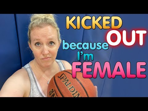 When women aren't allowed to play basketball || mommy monday