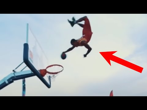 Unbelievable basketball dunk   people are awesome - best of the month