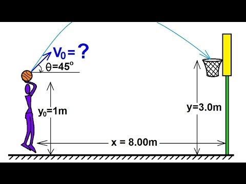 Physics 3: motion in 2-d projectile motion (4 of 4)