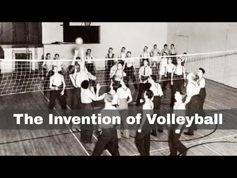 9th february 1895: volleyball invented by william g. morgan