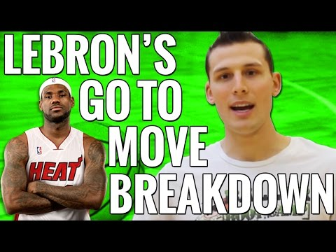 How to: lebron james' through the legs crossover hesi basketball move