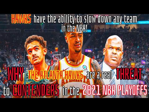 This is why the atlanta hawks have played so great lately!   a real threat in the 2021 nba playoffs!