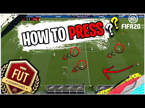 Fifa 20 how to press | high pressure in fut 20 | how to defend with high pressure | tips and tricks