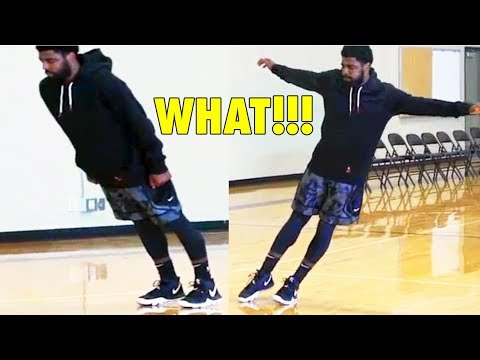 Can you do this kyrie irving's balancing exercise?