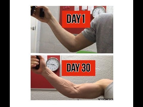 I used an hand-gripper everyday for 30 days and this is what happened to my forearms....
