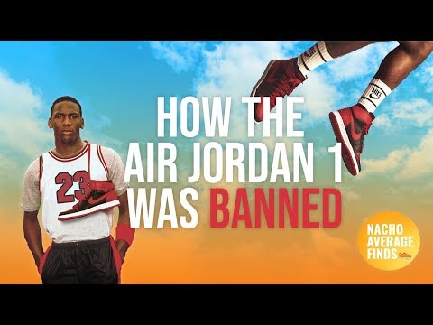 How the air jordan 1 was banned by the nba (or was it?)