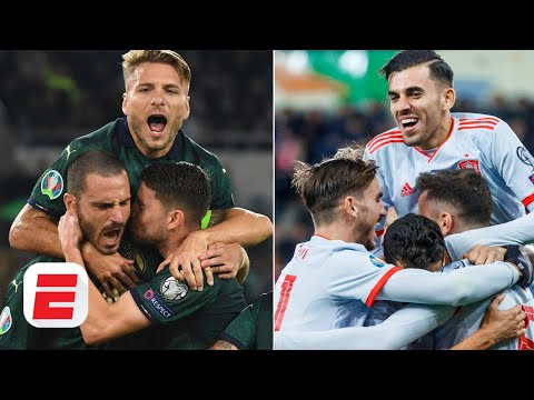 Are italy or spain in better shape ahead of euro 2020?   european championship qualifying
