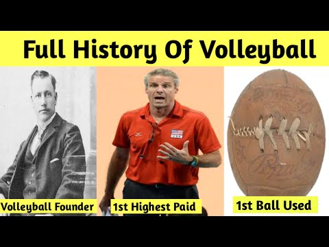 Evolution of volleyball 1895 - 2020   history of volleyball, documentary video