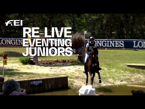 Re-live   eventing (j cross country)   fei european championships ch / j / yr