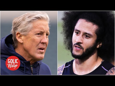 Pete carroll says he regrets not signing colin kaepernick to the seahawks in 2017 | golic and wingo