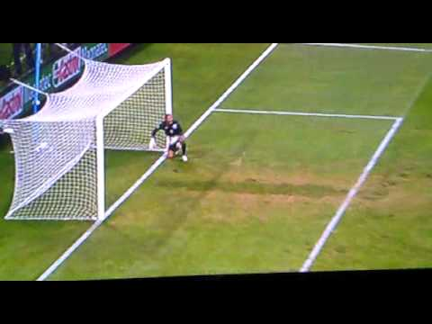 John terry fish dive against slovenia in world cup 2010