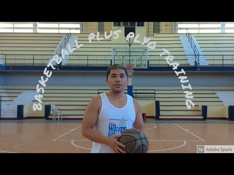 Basketball and workout training   burn calories, lose weight.