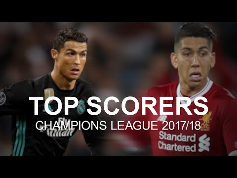 Who is the current champions league top scorer?