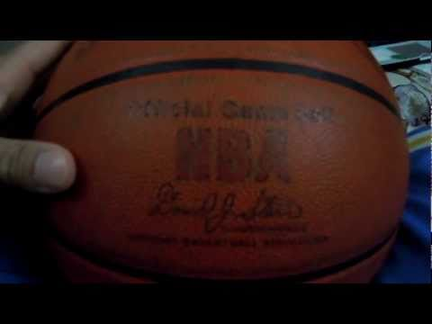 Update 1:: rare: how to break-in official leather indoor nba game ball
