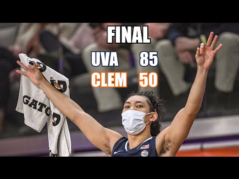 Offensive onslaught helps uva defeat clemson