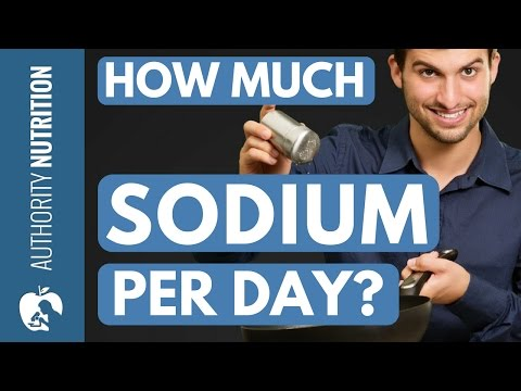 How much sodium (salt) should you eat? the salty truth