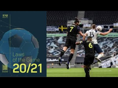 New premier league handball rule explained | ifab laws of the game