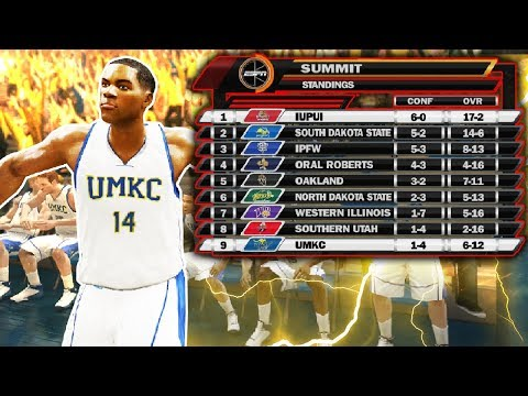 Taking on #1 in the conference! | ncaa basketball 10 umkc dynasty ep. 8
