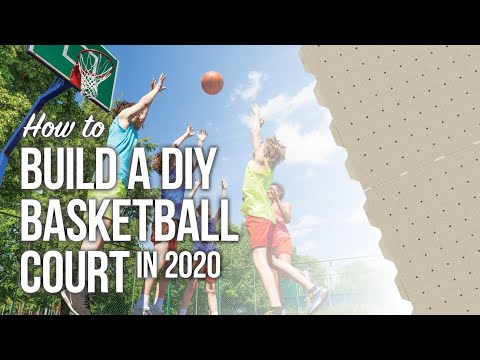 The best way to build a diy basketball court in 2020