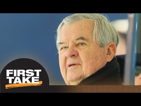 First take reacts to panthers owner planning to sell team after allegations | first take | espn