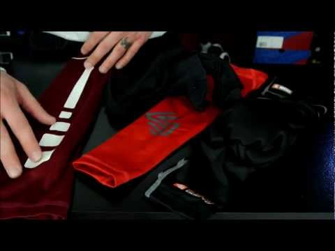 Shock doctor velocity shockskin basketball arm sleeve & core compression sleeve review