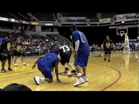 The professor shakes nba player george hill & shuts down game