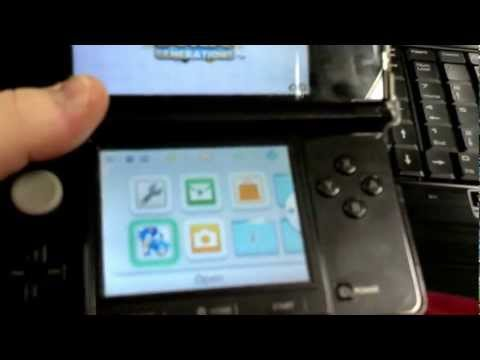 Playing out-of-region games on a 3ds