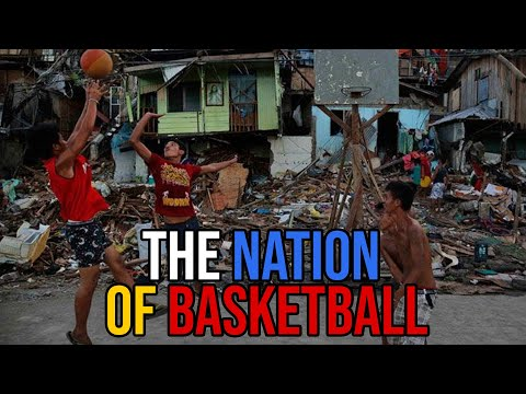 This is the most basketball obsessed country in the world!