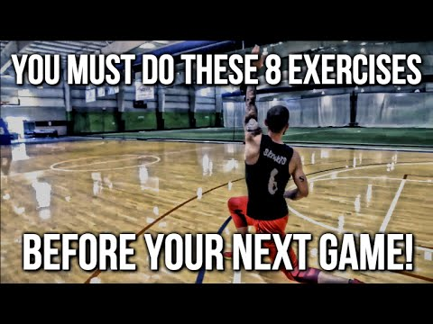 The 8 basketball warm up exercises that are a must before a game!