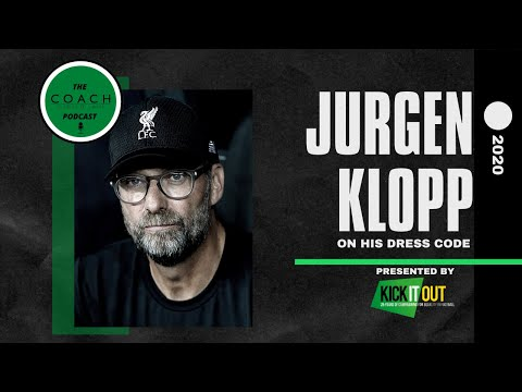 Jürgen klopp on why he doesn't like to wear suits on the touchline