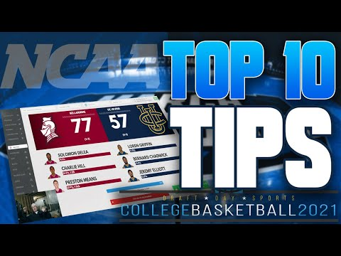 Top 10 tips in draft day sports: college basketball 2021 🏀 | ddscb 2021 | from cards