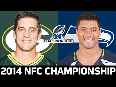 Green bay packers vs. seattle seahawks 2014 nfc championship game highlights