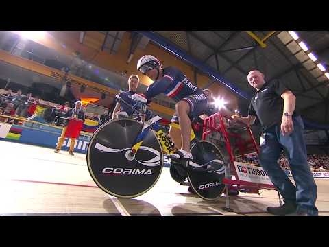 Men's 1km time trial final - 2018 uci track cycling world championships