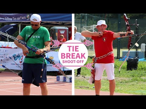 More than 70 years old and still shooting 10s when it matters! | fivics tiebreak