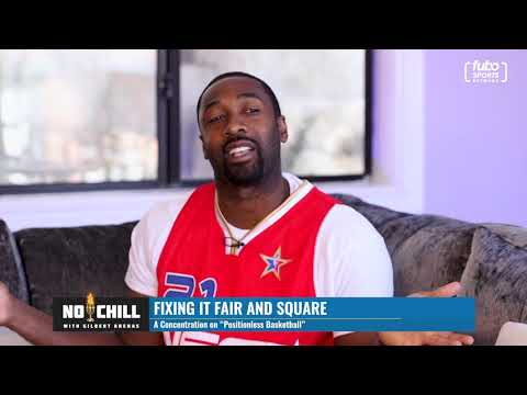 """""""i thought the nba was positionless?"""" gilbert arenas asks why positions matter in nba all-star teams"""