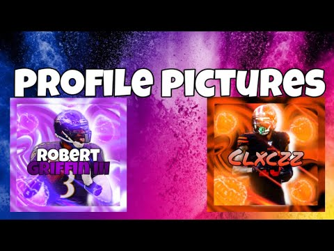 Tutorial on how to make the best sports profile pictures!!!
