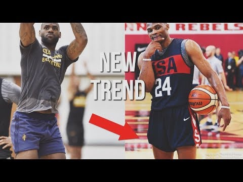 The famous basketball trend | rolling waistband & tucking shorts explained