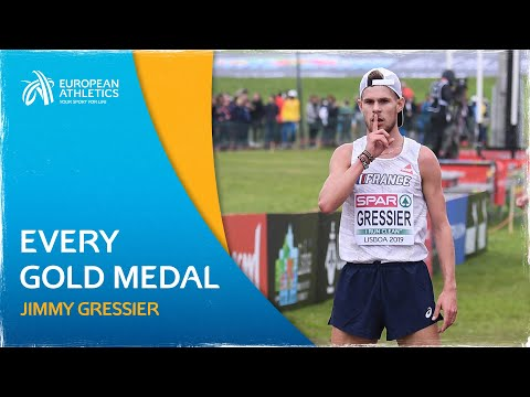 Every jimmy gressier european cross country gold medal