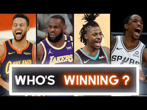 Play-in tournament - warriors vs lakers and spurs vs grizzlies