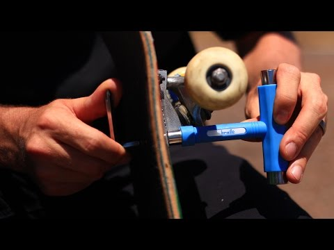 How to use a skate tool